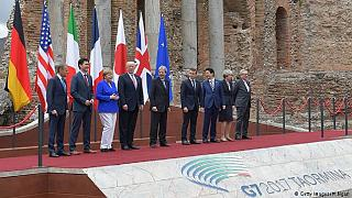 G7 summit talks open amid rising global crises