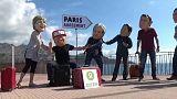 Klímatüntetés Szicíliában