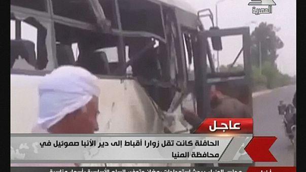 مقتل 28 شخصا عدد كبير منهم من الأطفال جراء هجوم المنيا
