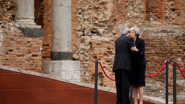 G7: May plaide pour une approche collective contre le terrorisme