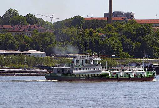 Kampf den Dreckschleudern in der Binnenschifffahrt