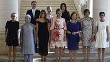Ο άντρας του Πρωθυπουργού του Λουξεμβούργου και οι... Πρώτες Κυρίες του ΝΑΤΟ
