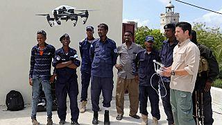 Somali police get surveillance drones to combat al Shabaab insecurity