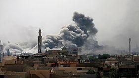 یکصد غیرنظامی در حمله هوایی ائتلاف به مواضع داعش در سوریه جان باختند