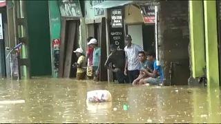 Áradások pusztítanak Srí Lankán