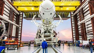 Image: Crew Dragon spacecraft