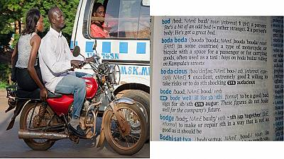 Ugandans hail inclusion of boda boda - motorbike taxi - in Oxford Dictionary