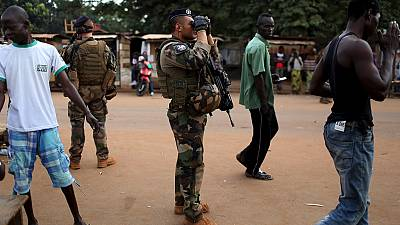 French soldiers operating drones in Central African Republic from Paris