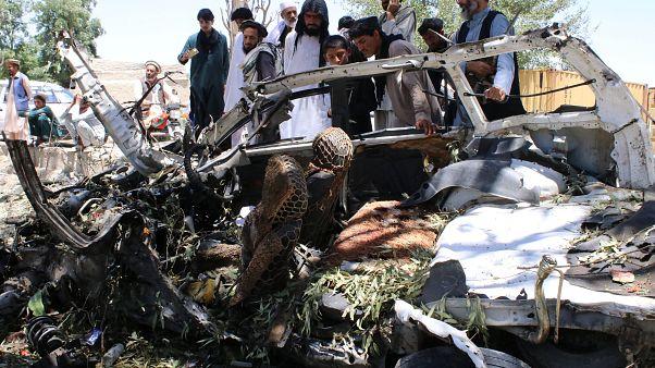 انفجار انتحاری در شهر خوست افغانستان جان دهها نفر را گرفت