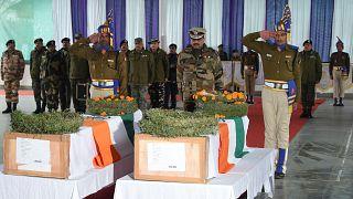 Image: India Pakistan unrest