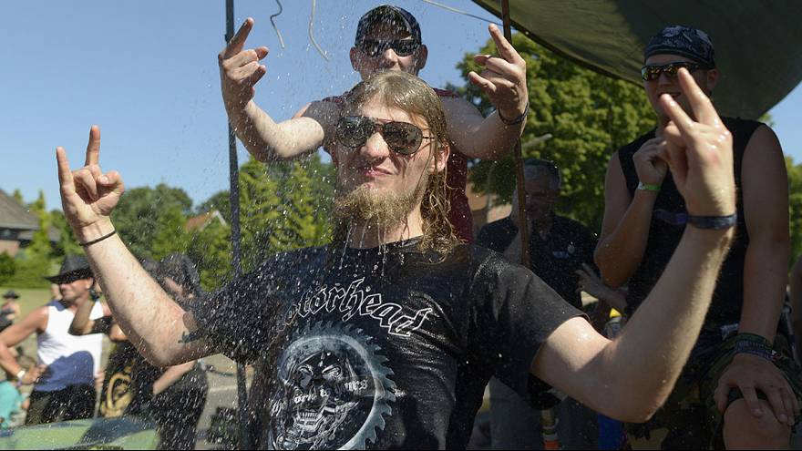 Festival's beer pipeline set to be music to the ears of metalheads