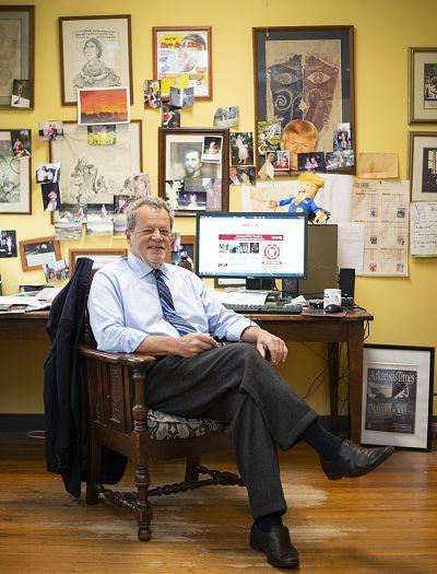 Alan Leveritt, publisher of the Arkansas Times.