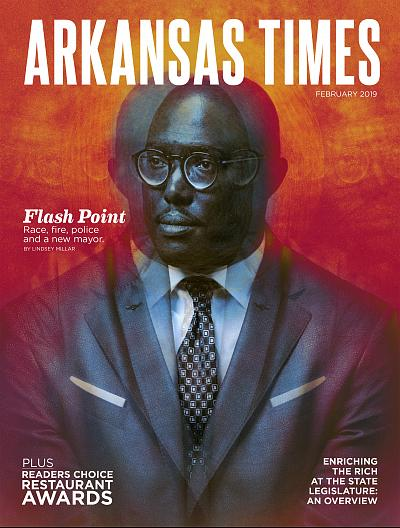 The most recent issue of the Arkansas Times, the publication at the center of the ACLU\'s lawsuit.