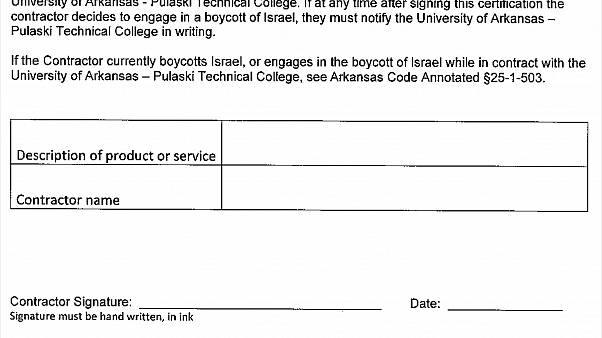 Image: ACLU Israel Certification