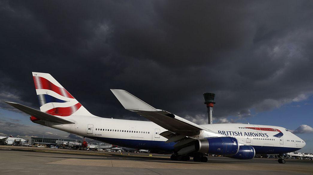 Bristish Airways cancela todos sus vuelos desde Heathrow y Gatwick por un fallo informático global