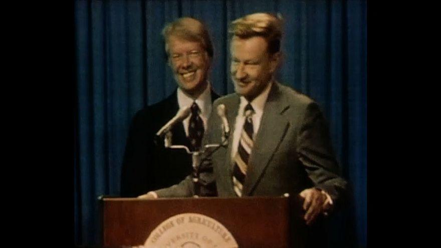 Zbigniew Brzezinski, President Jimmy Carter's national security adviser, dies aged 89