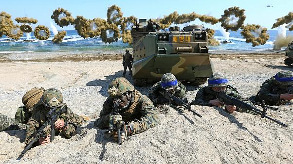 U.S., South Korea announce end to large-scale military drills as Trump pursues nuclear diplomacy