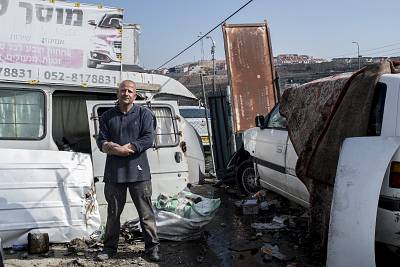 Ali Musa is a mechanic who lives in the shadow of Efrat, a large settlement near Bethlehem.