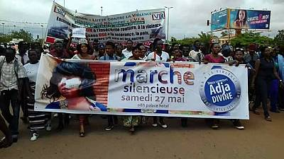Hundreds protest in Ouagadougou over mob assault on musician