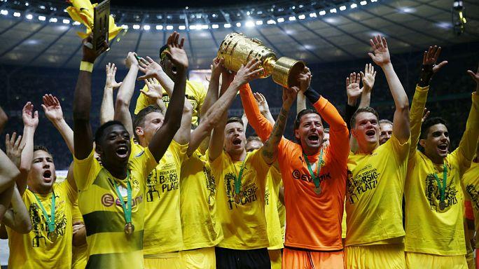Dortmund feiert den Cup