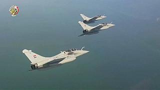 Egypt launches second round of air strikes over Libya
