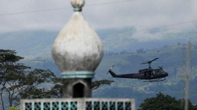 استمرار المواجهات بين الجيش الفليبيني و مسلحين اسلاميين في مراوي