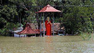 Inundações no Sri Lanka provocam dezenas de mortos