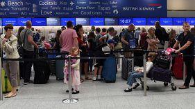 British Airways retoma operações mas ainda há atrasos