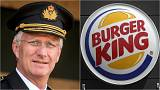 Megharagudott a belga király a Burger Kingre