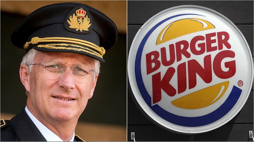 Burger giant's advert irks Belgium's King Philippe