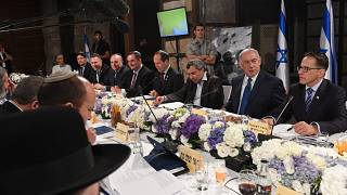 الحكومة الاسرائيلية تعقد جلستها الاسبوعية في نفق بالقرب من ساحة البراق
