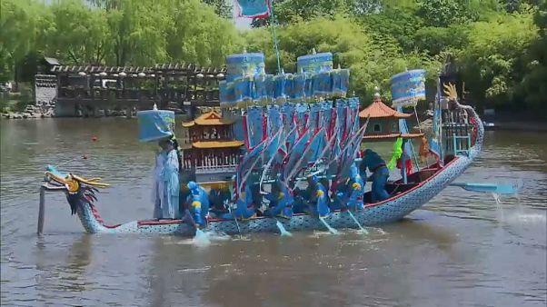 Drachenboote bringen Glück