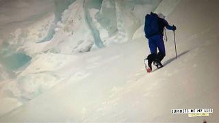 Κ. Ζορνέτ: Στην κορυφή του Έβερεστ σε 17 ώρες!