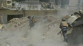 Cerco al Dáesh en el casco antiguo de Mosul