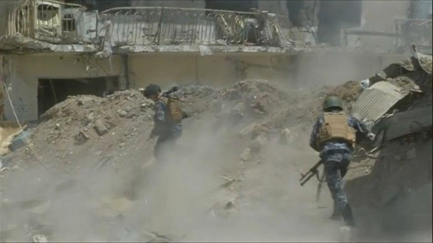 Forças iraquianas avançam em Mossul