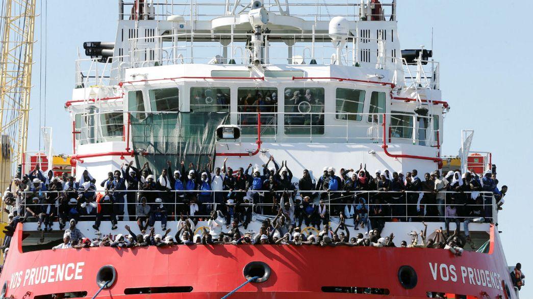 نجات ۱۵۰۰ پناهجو از مدیترانه