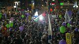 هزاران اسرائیلی در حمایت از صلح با فلسطینیان تظاهرات کردند