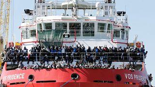 Près de 1500 migrants secourus par MSF en Méditerranée