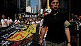 Menschenrechts-Demo zum 28. Jahrestag des Tiananmen-Massakers