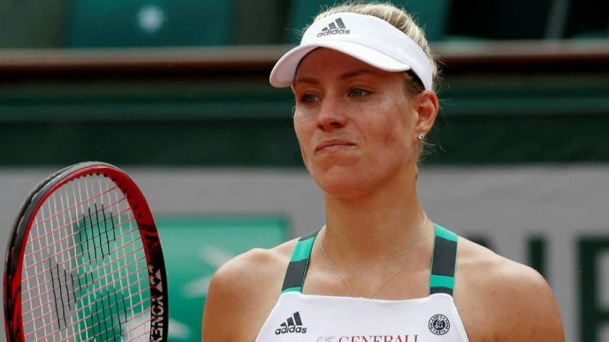 Roland Garros: Kerber cae a la primera