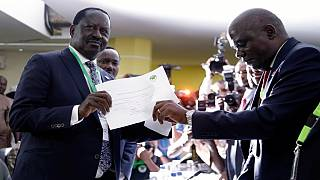Kenya's main opposition leader cleared to run for presidency as campaigns officially kick off