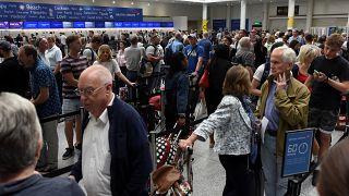 Le trafic aérien de la British Airways reste perturbé
