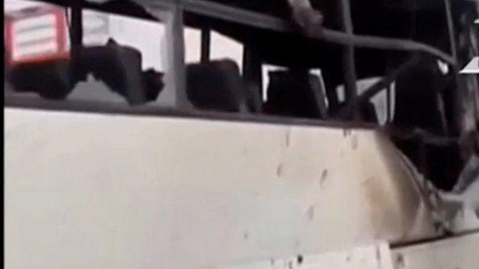 إقالة مدير أمن المنيا على خلفية هجوم استهدف حافلة للأقباط