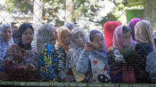 Intensos combates y miles de desplazados en Filipinas