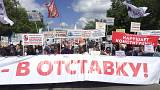 'Hands off our homes': Moscow rally for Soviet-era buildings