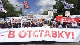 """Москвичи протестуют против сноса """"хрущевок"""""""