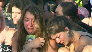 Vigil for Portland stab victims