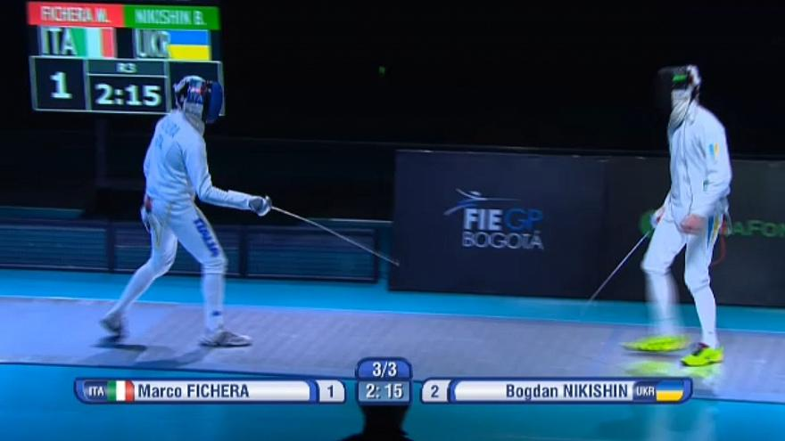 Nikishin e Szazs-Kovacs ganham ouro no GP de espada de Bogotá