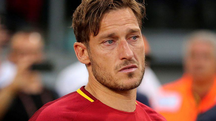 El adiós de Totti a la Roma