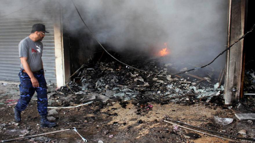 استمرار الصراع في العاصمة الليبية طرابلس